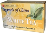 Legends of China White Tea 100 Tea Bags by Uncle L