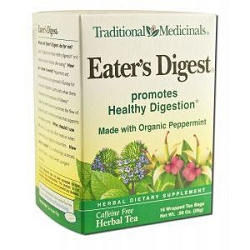 Eater's Digest Tea 16 Tea Bags by Traditional Medi