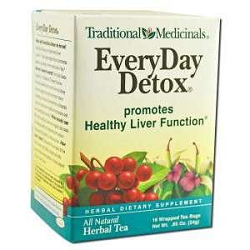 Everyday Detox Tea 16 Tea Bags by Traditional Medi