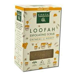 Loofah Exfoliating Soap Oatmeal & Honey 4 oz Bar