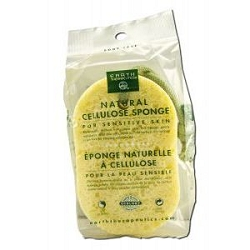 Natural Cellulose Sponge by Earth Therapeutics