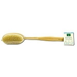 Genuine Bristle Natural Body Brush 16 Inch by Eart