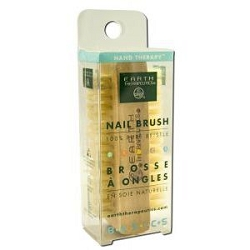 Genuine Bristle Nail Brush by Earth Therapeutics
