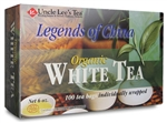 Legends of China White Tea Organic 100 Tea Bags b