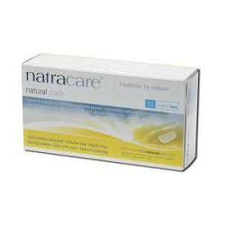 Natural Pads Super 12 Pads by Natracare 12 Coun