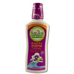 Healthy Teeth Natural Fluoride Rinse Berry Blast