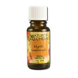 Pure Essential Oil Myrrh 0.5 oz by Nature's Alche