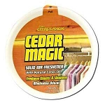 Solid Odor Absorber Cedar Magic 6 Pack 8 oz Each b