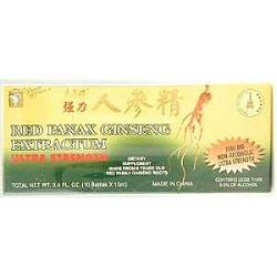Red Panax Ginseng Extractum Ultra Strength 10 X 1