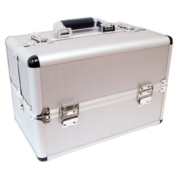 City Lights Madison Collection Aluminum Tool Case 14L X 9-1/2H X 8-1/2D