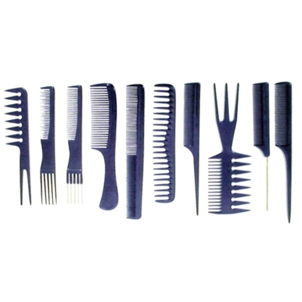 Aristocrat 10 Piece Professional Comb Set (AR-10)
