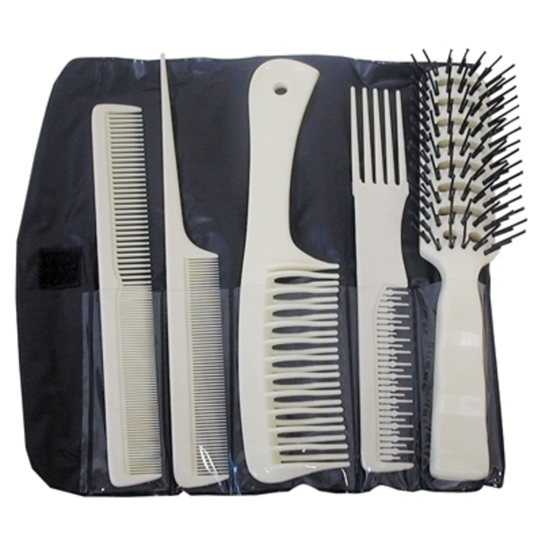 Aristocrat 5 Piece Brush & Comb Assortment (COMBO-