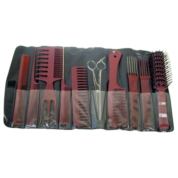 Aristocrat 9 Piece Brush & Comb Assortment (COMBO-