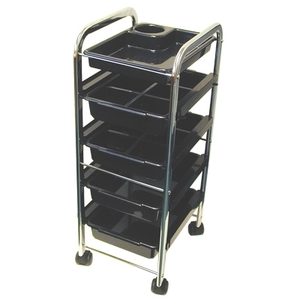 Celebrity 5-Tray Utility Trolley (9007)