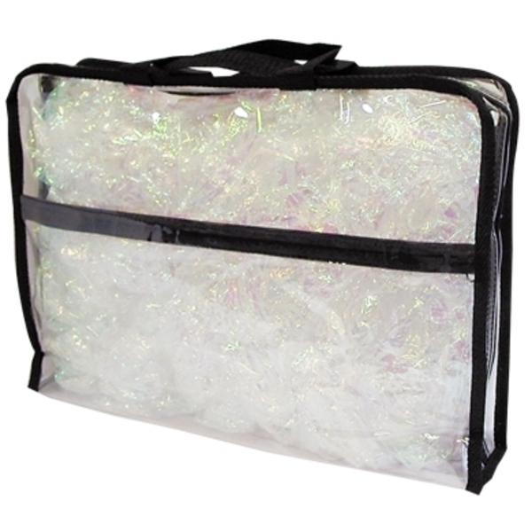 "Clear Totes Briefcase 15""L X 11""H X 3""D (TOTE-401)"
