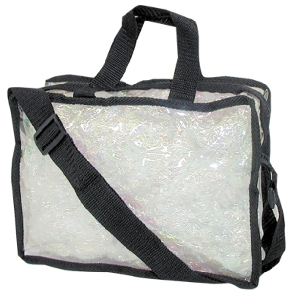 "Clear Totes Large Carry-All 11"" X 8"" X 4"" (TOTE-40"