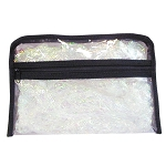 "Clear Totes Large Cosmetic Bag 9-12"" X 6-12"" X 2"