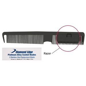 Diamond Edge 2 Way Razor Comb Set (DE-RAZOR)