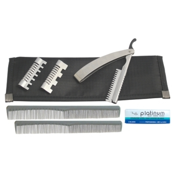 Diamond Edge Hair Styling Razor Kit (DE-RZKT)