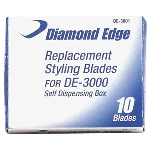 Diamond Edge Replacement Blades For DE-3000 10 p