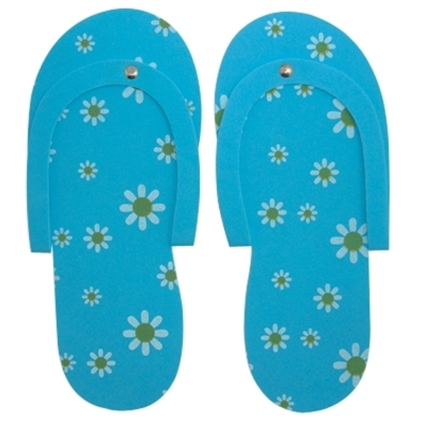 DL Professional Daisy Pedi Slippers Blue (DL-C87