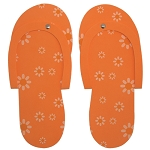 DL Professional Daisy Pedi Slippers Orange (DL-C