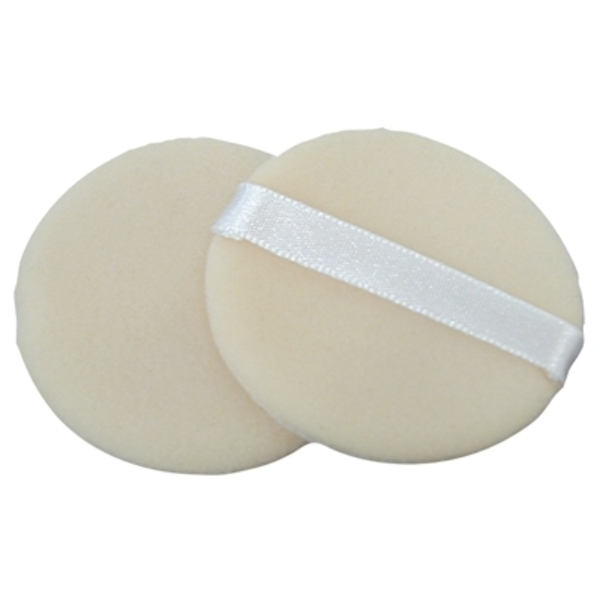 Fantasea 2 Pack Cotton Cosmetic Powder Puff (FSC23