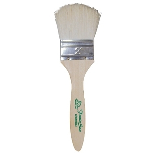 "Fantasea 2"" Long Handle Soft Wool Body Brush (FSC2"
