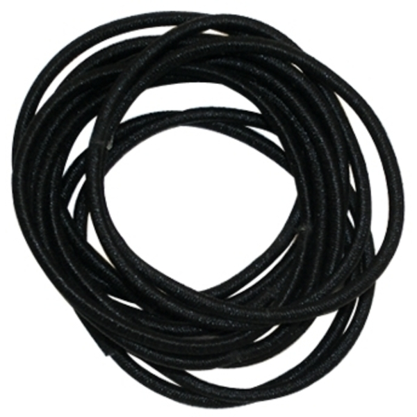 Gold Magic Black Elastic Bands 12Pack (GM-00207