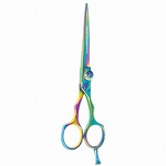 "Ninja Swordsman Titanium Multi Color 6"" Shear (NJ-"