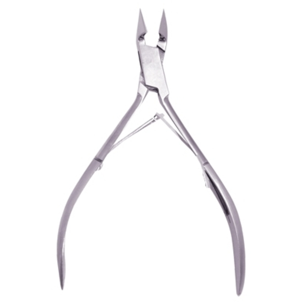 "Satin Edge Cuticle Nipper Double Spring 4-12"" (SE"