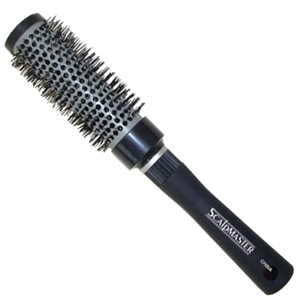 Scalpmaster Ceramic Nylon Bristle Curling Brush 1-
