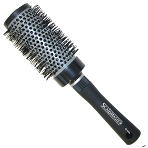 Scalpmaster Ceramic Nylon Bristle Curling Brush 2-