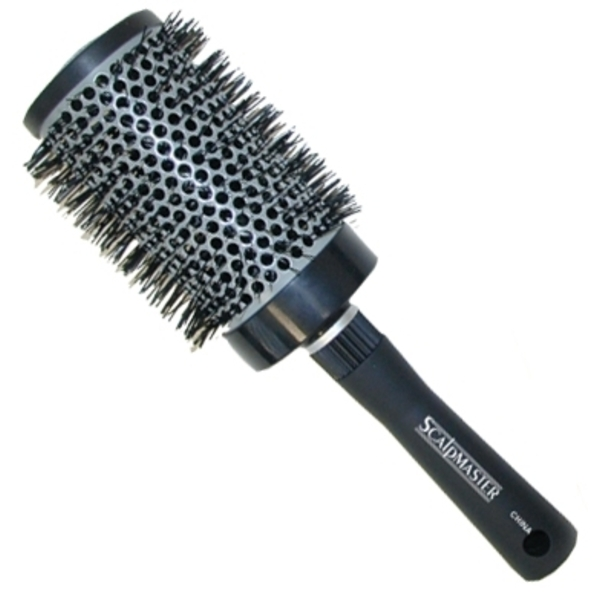 Scalpmaster Ceramic Nylon Bristle Curling Brush 3""