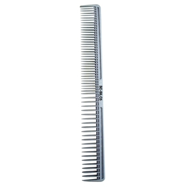 Scalpmaster Silicon Extra Wide Tooth Cutting Comb