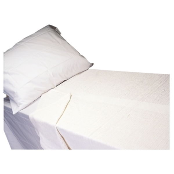 Scalpmaster Twin Size Flat Sheet White (TOW15-WH