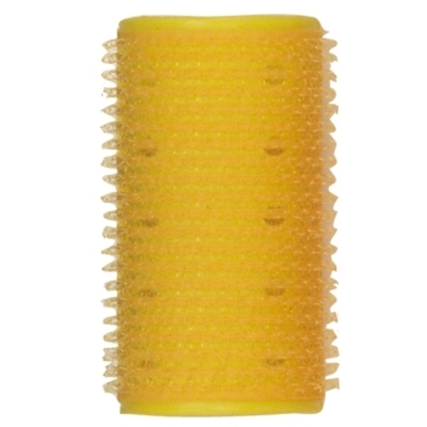 "Soft 'n Style 1-14"" Yellow Velcro Roller (EZ-14)"