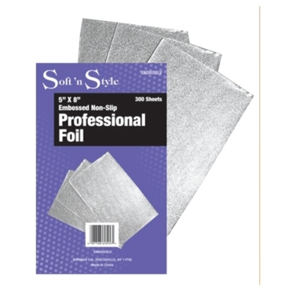 Soft 'n Style 300 Sheets 5 X 8 Sheets 5 X 8 Silver