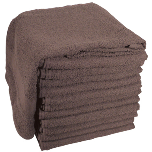 "Soft 'n Style Terry Towel 2-12"" Lbs. Brown (TOW"