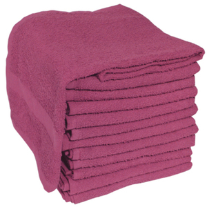 "Soft 'n Style Terry Towel 2-12"" Lbs. Burgundy ("
