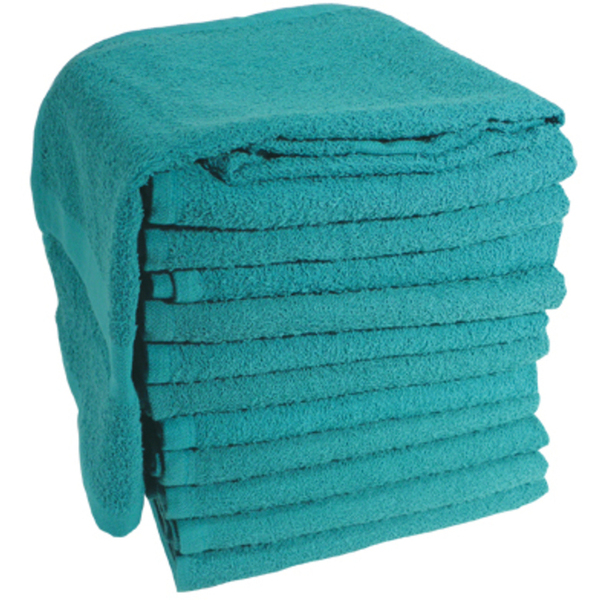 "Soft 'n Style Terry Towel 2-12"" Lbs. Teal (TOW-"
