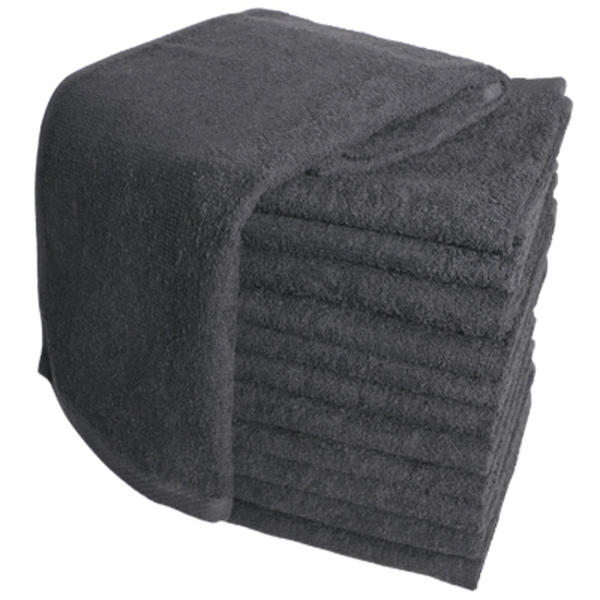 Soft 'n Style Terry Towel 3 Lbs. Black (TOW-9-BK