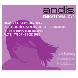 Andis Clipper Cut DVD Today's Hot Styles (A12975)