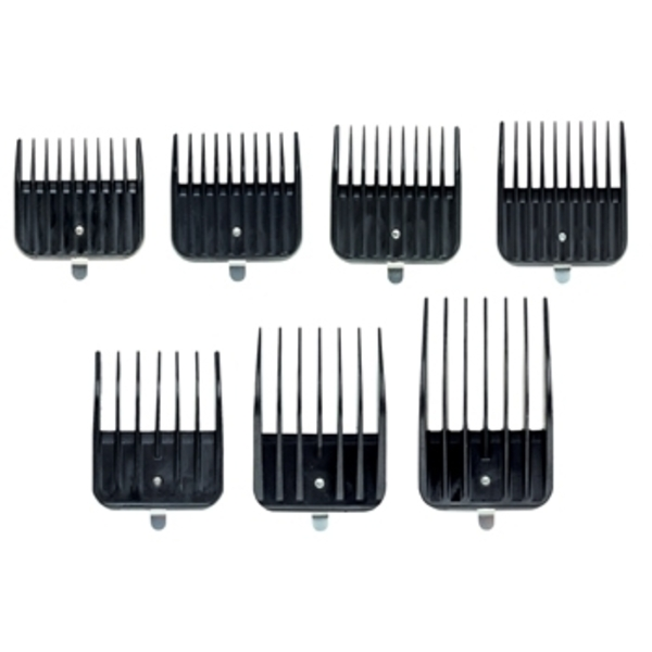 Andis Snap-On Combs 7 Piece S Assorted (A1380)