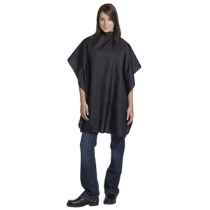 Andre Nylon Styling Cape 36X54 Velcro Black (FRA61