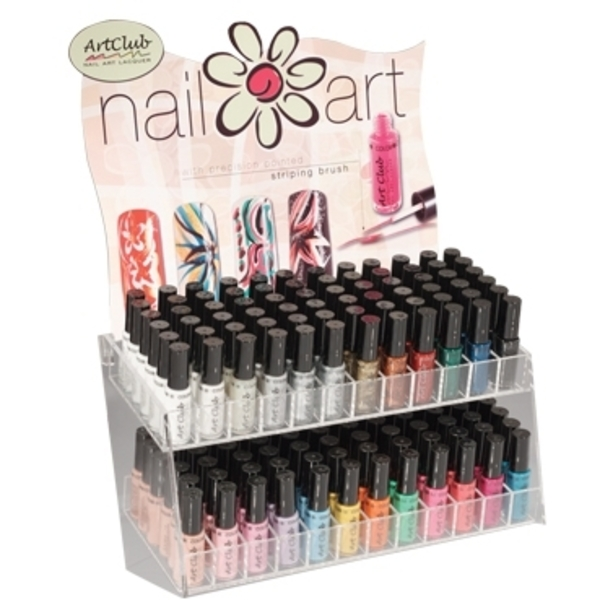 Art Club Nail Art 144 Piece Display (05DAC144)