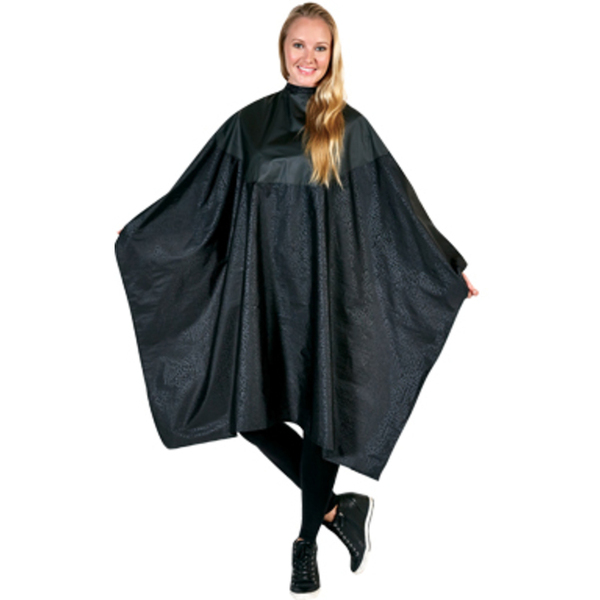 Betty Dain Multi-Purpose Chemical Cape Black (BD