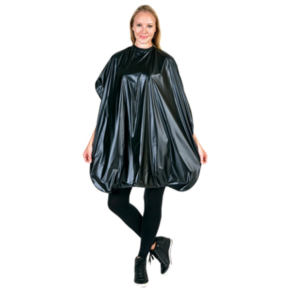 Betty Dain Vinyl Shampoo Cape 36X54 Velcro Bla