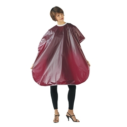 Betty Dain Vinyl Shampoo Cape 36X54 Velcro Bur