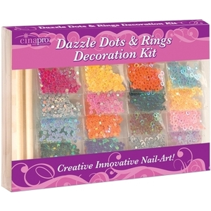 CinaPro Dazzle Dots & Rings Decoration Kit 20 Pa